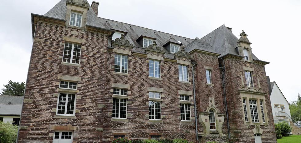 Le château à partir duquel l'abbaye a été construite.
