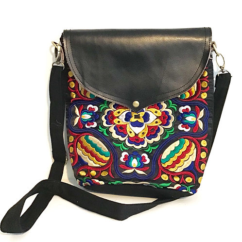 Secret Flora Satchel Shoulder Bag