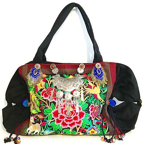 Urban Jungle Handmade Weekend Bag