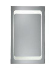 Abstract Backlit Mirror