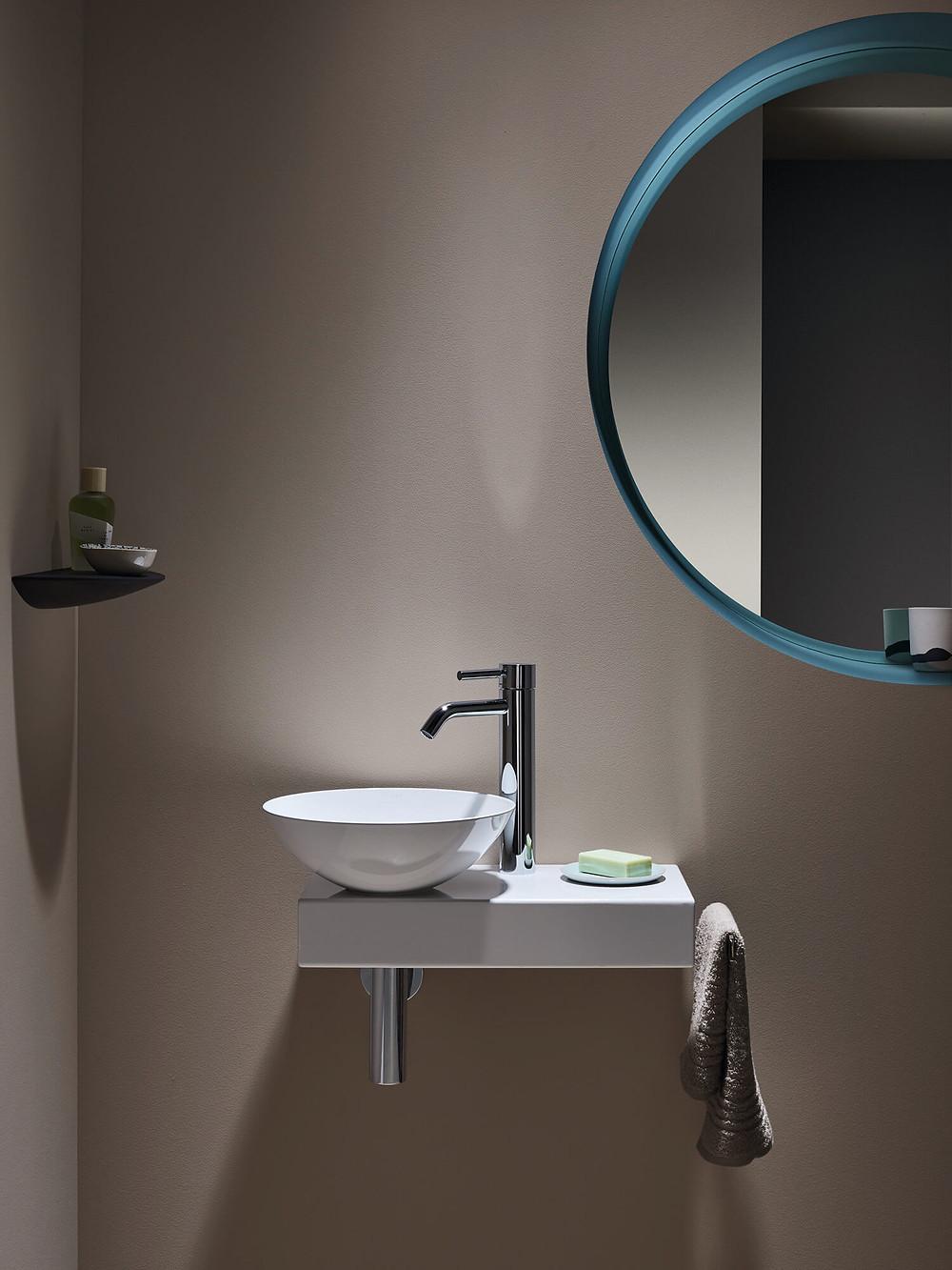 Small Wall Hung Bathroom Basin