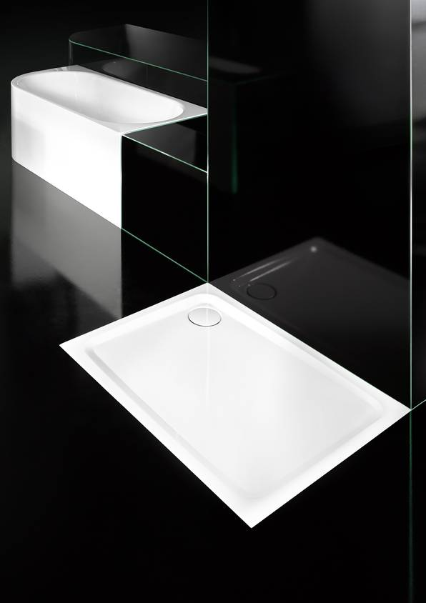 milieu steel shower tray