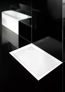 milieu steel shower tray