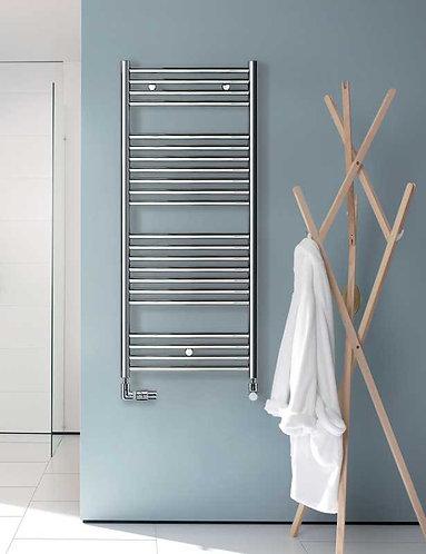 Klaro Chrome Heated Towel Rail