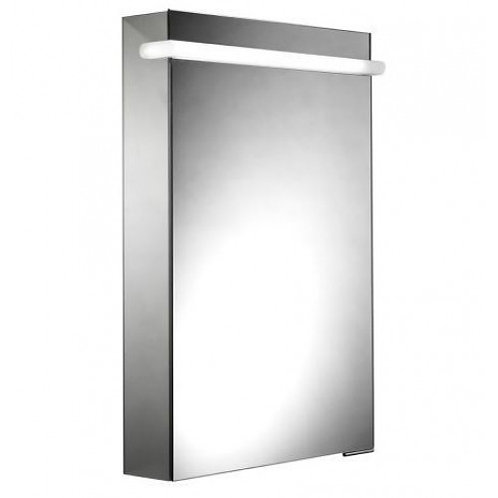 Impress Single Door Illuminated Cabinet
