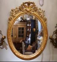Mathilde Louise Oval Mirror