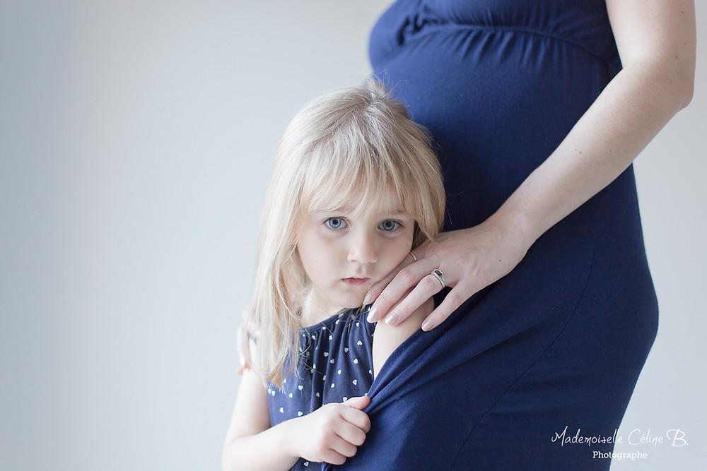 Mademoiselle Céline B. Photographe femme enceinte 91