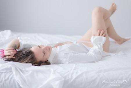 Mademoiselle S. - Séance Portrait intime Juste elle
