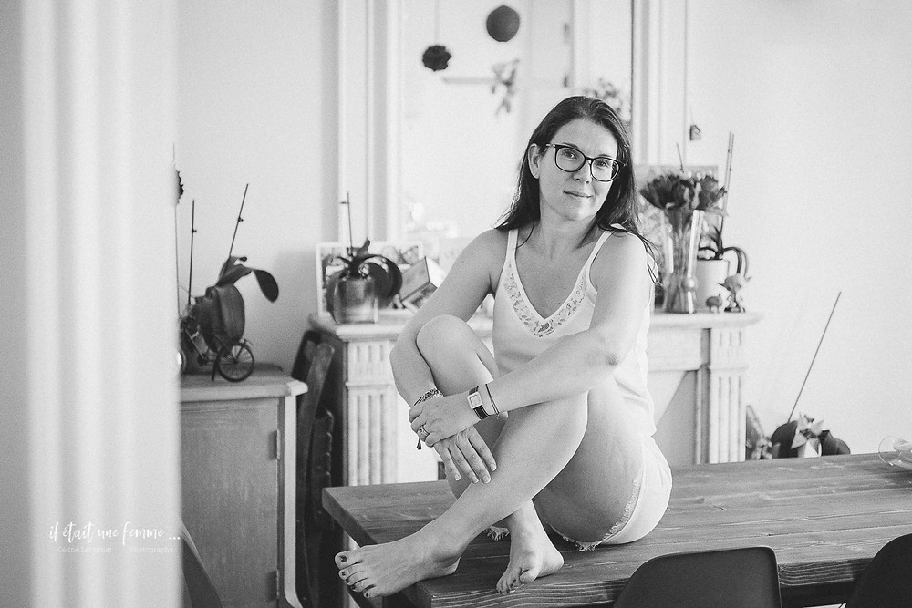 Céline Leroutier Photographe - Photographe intimité femme