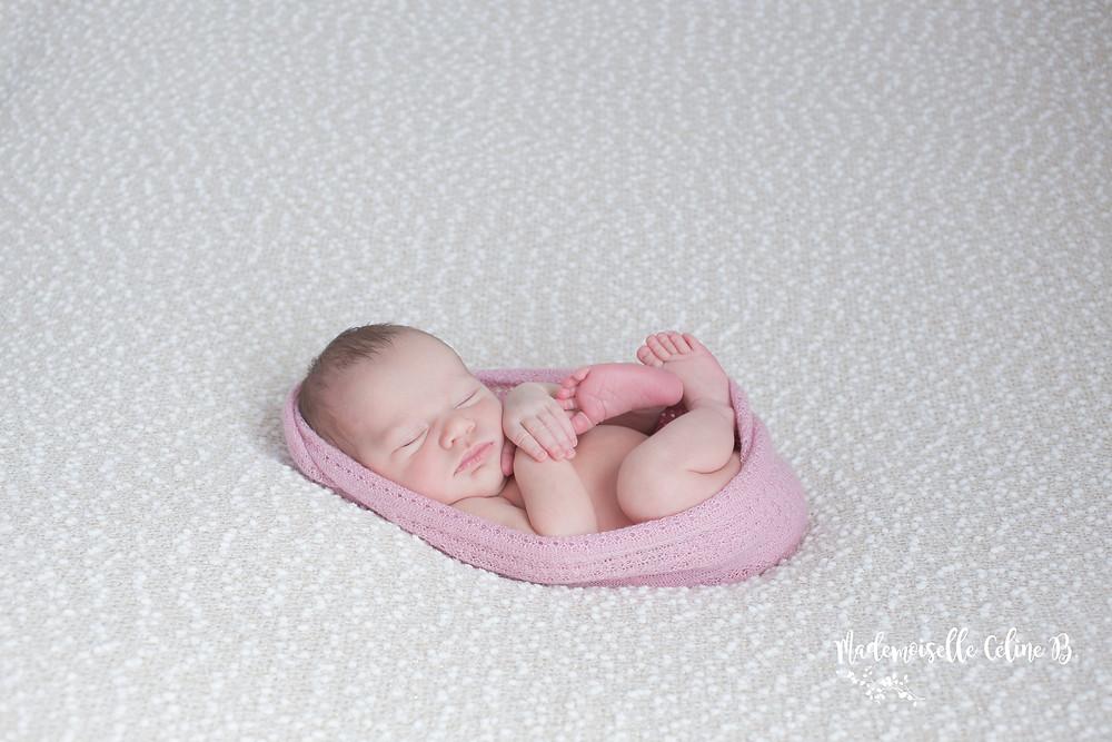 Mademoiselle Céline B. Séance photos bébé - Photographe 91