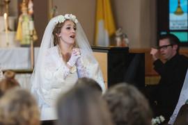 Title role, La damoiselle élue. Photo by Amanda Tipton, with Central City Opera.