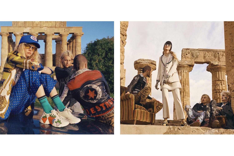 Clara Balzary + Gucci