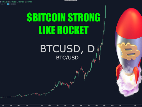 Bitcoin Strong Like Rocket & The New Decentralized Revolution. $BTC $13,500 - Biggest ICO of 201
