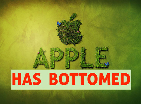 Apple (AAPL) 3 Reasons Why AAPL Has Bottomed