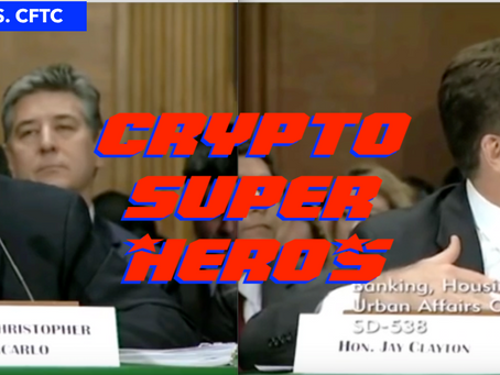 MARKET UPDATE: The Crypto U.S Regulators Hearing Takes a 'Do No Harm' Approach on Crypto &am
