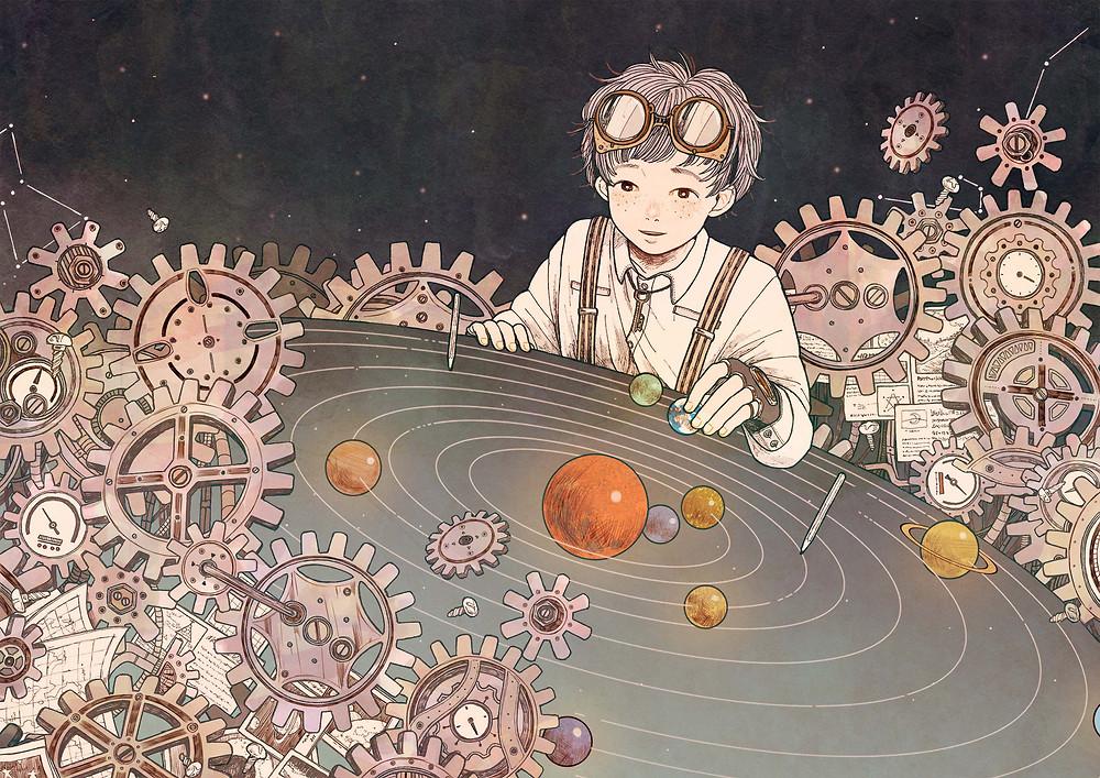 くまお♀さんによるStars on planet2017 キービジュアル