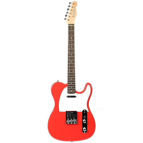 Tokai Breezysound Tele TTE38 Electric Guitar: Fiesta Red