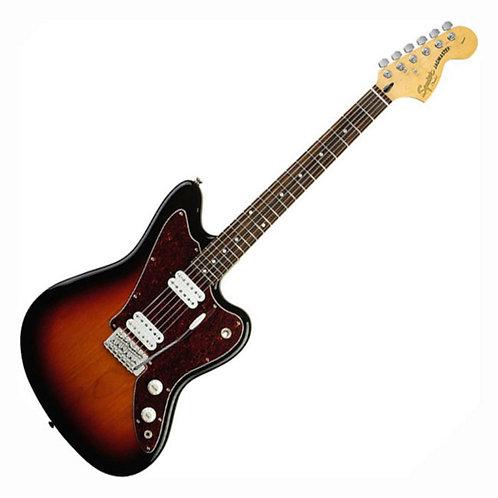 Squier By Fender Jagmaster Guitar, 3 Tone Sunburst