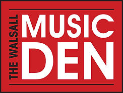 the walsall music den logo