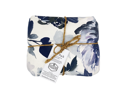Large Heat Pack - Floral Blue