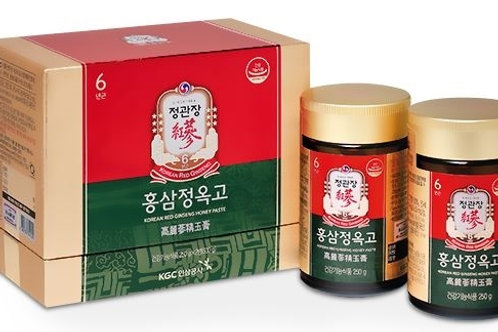 Korean Red Ginseng Honey Paste 250g 2 Pack