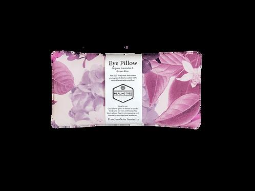 Organic Lavender & Brown Rice Eye Pillow - Floral Purple