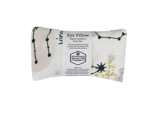 Organic Lavender & Brown Rice Eye Pillow - Soft Star Signs