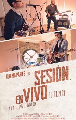 Buenaparte - Sesion En Vivo (Sesión en vivo - 2013)