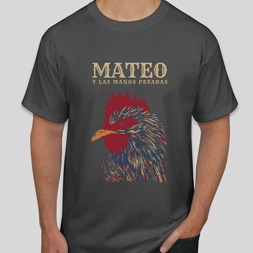 Rooster T-Shirt Male