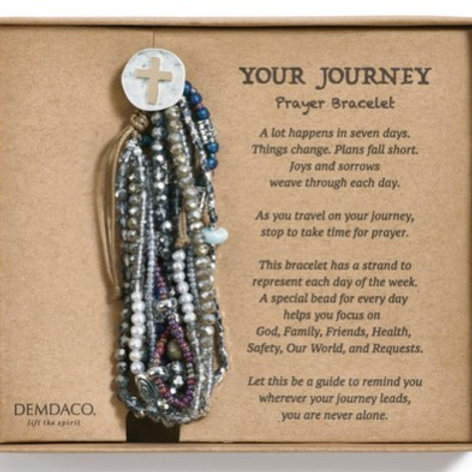 Journey Prayer Bracelet