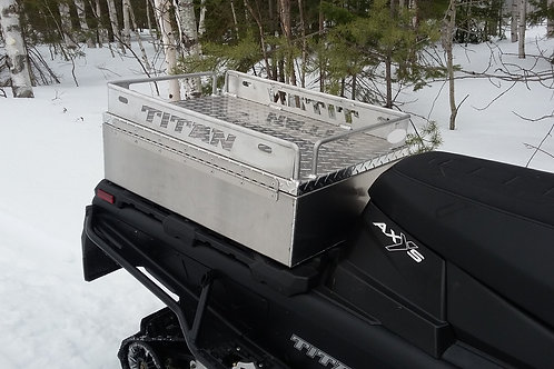 Coffre pour motoneige Polaris Titan Plateforme
