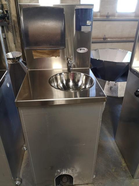 Station de lavage des mains portative