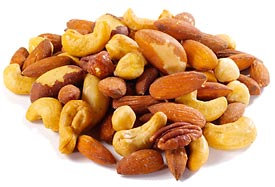 Mixed Nuts - Roasted & Unsalted