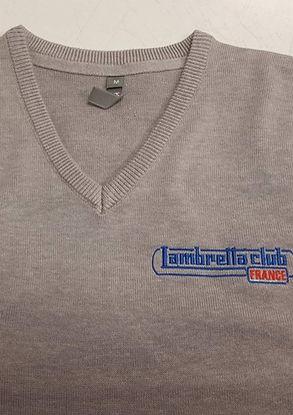 pull-col-v-logo-lambretta-club-france-couleur-gris