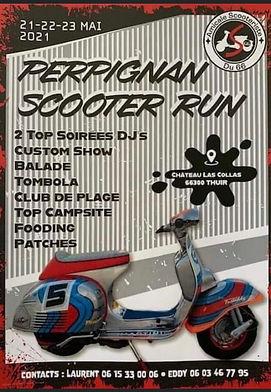 Perpignan Scooter Run 21-22-23 Mai 2021