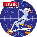 logo badge officiel lambretta club france scooter