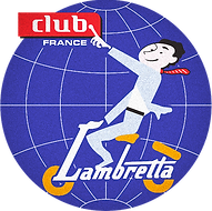 logo badge lambretta club france