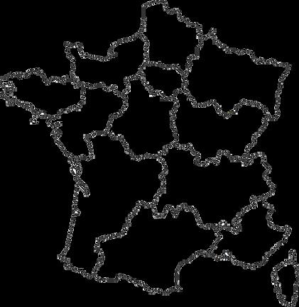 carte de france des délégués régionaux du lambretta club de france scooter