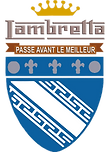 logo officiel lambretta club france scooter usine de troyes