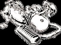 dessin moteur scooter lambretta
