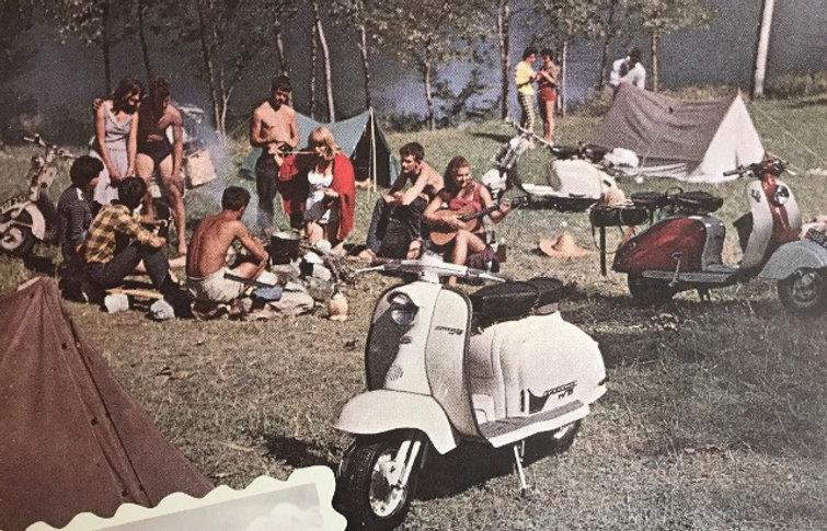 Rassemblement lambretta club france scooter