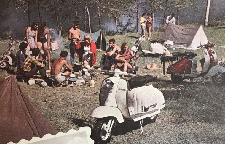 Rassemblement lambretta club france scooter