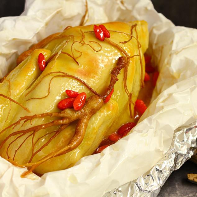 Pok Pok Keh's Salt-Baked Chickens