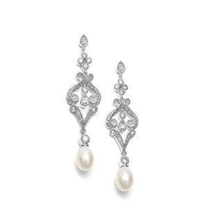 商品攝影 - 珍珠耳環