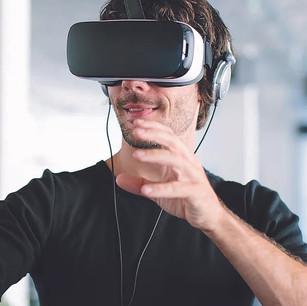 情境攝影 - VR穿戴裝置
