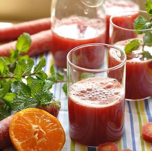 情境攝影 - 健康果汁