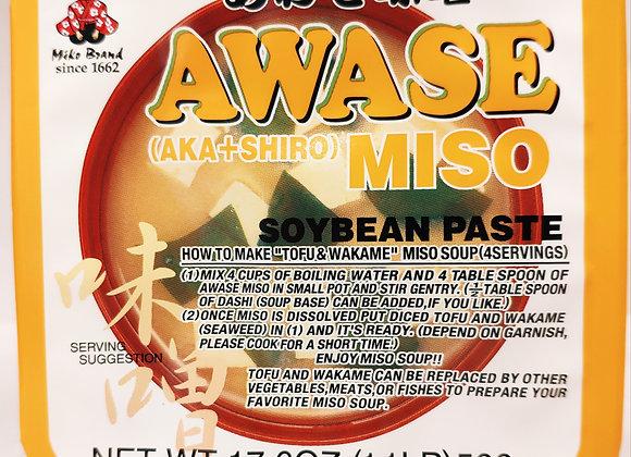Awase Miso Paste 500 Grams