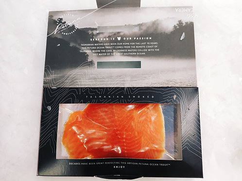 Smoked ocean trout 200 grams