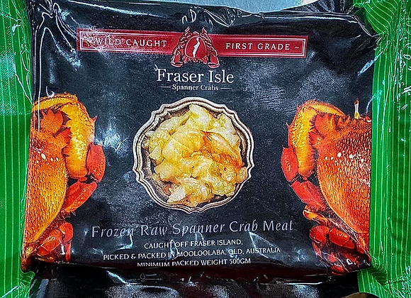 Raw Spanner Crab Meat (500 Grams)
