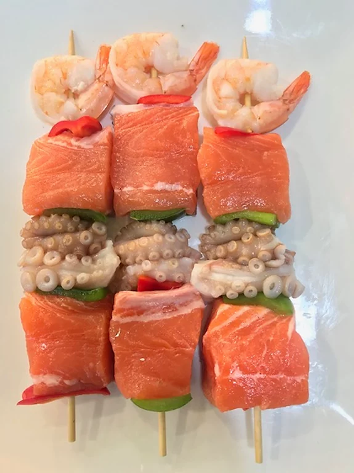 Seafood Kebab (Each)